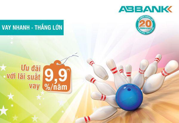 Vay tiêu dùng cá nhân lãi suất thấp tại ABBank
