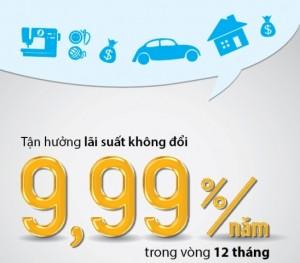 VIB cho vay mua ô tô, mua nhà với lãi suất thấp không đổi