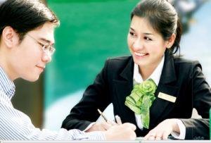 Vietcombank tuyển dụng cán bộ tại hội sở