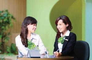 Vietcombank tuyển dụng nhiều vị trí ở miền Bắc 2013