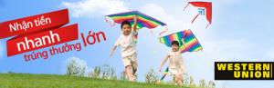 Western Union- LienVietPost Bank nhận tiền nhanh trúng thưởng lớn