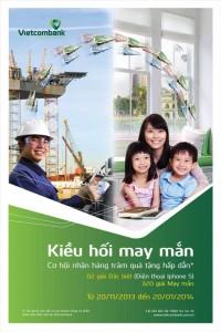 Nhận tiền kiều hối tại Vietcombank cơ hội nhận Iphone 5