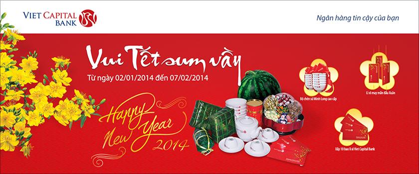 Vietcapital khuyến mãi quà tặng hấp dẫn đón năm mới cho khách hàng