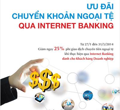 Internet banking Vietinbank khuyến mãi chuyển khoản ngoại tệ