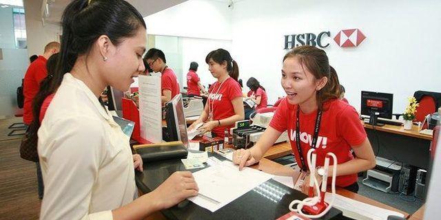 Lãi suất vay tín chấp ngân hàng HSBC