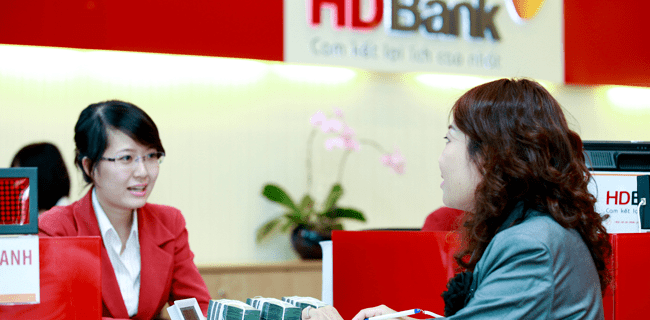 Lãi suất vay tín chấp ngân hàng HDBank