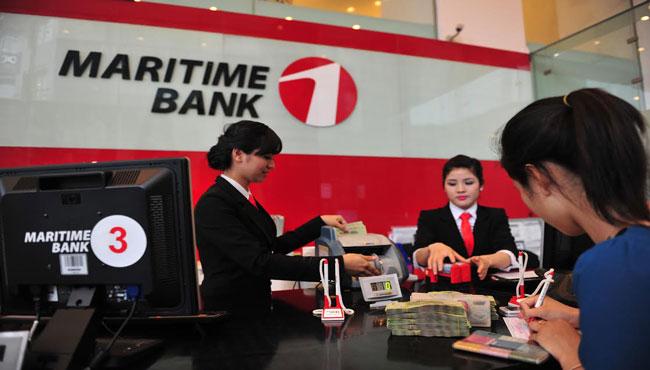 Vay tín chấp ngân hàng Maritimebank