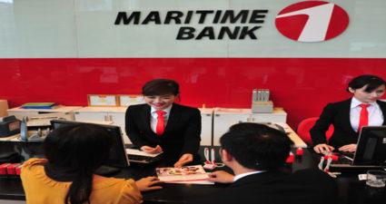 Lãi suất vay tín chấp ngân hàng Maritimebank