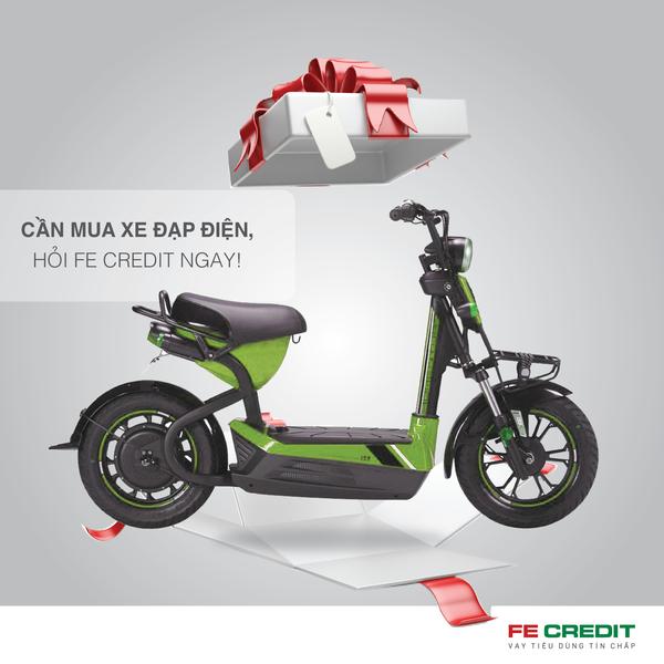 Fe Credit ưu đãi mua xe đạp điện