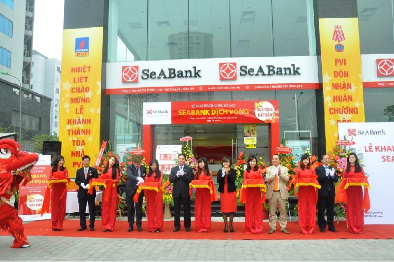 lãi suất tiền gửi, vay ngân hàng sea bank 2018