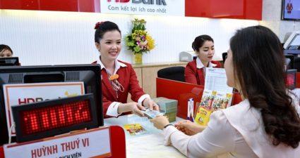 lãi suất tiền gửi, vay ngân hàng HD Bank 2018