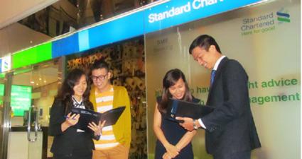 lãi suất cho vay tín chấp Ngân hàng Standard Chartered