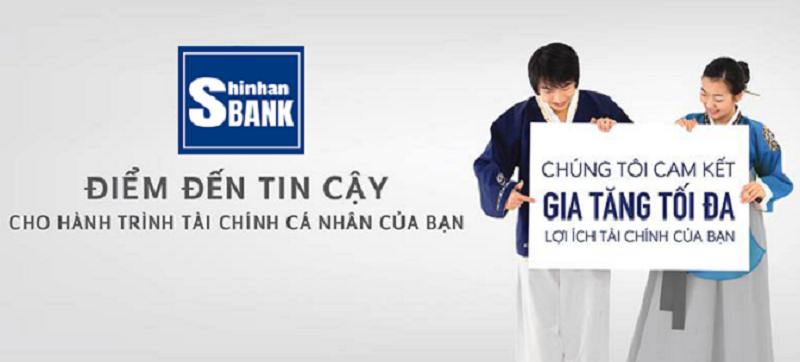 Lãi suất vay tín chấp Ngân hàng Shinhan