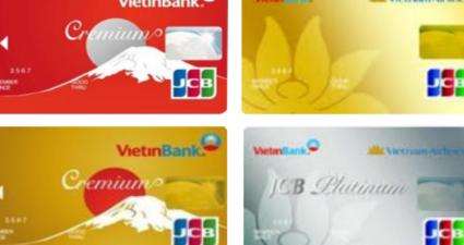 Lãi suất thẻ tín dụng Vietinbank