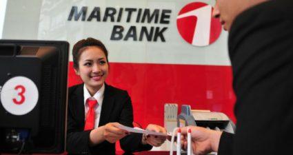 lãi suất thẻ tín dụng maritime bank