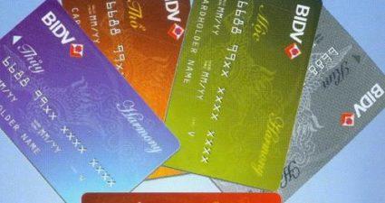 Thông tin về lãi suất thẻ tín dụng BIDV và những tiện ích ưu đãi