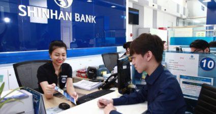 lãi suất thẻ tín dụng Shinhan Bank
